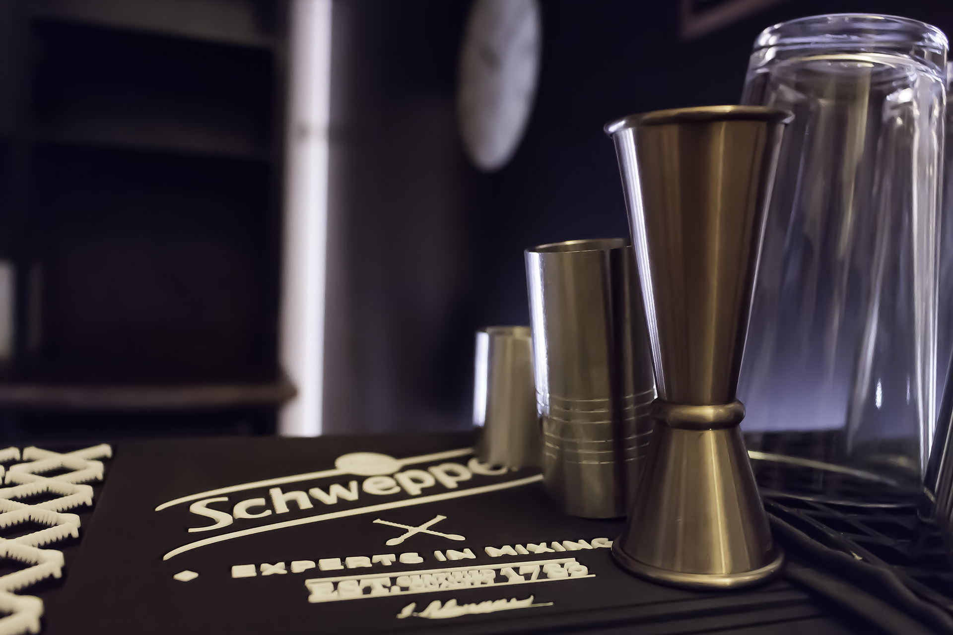 Utensílios de cocktail Schweppes